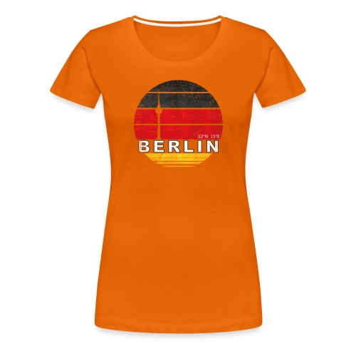 BERLIN, Germany, Deutschland - Women's Premium T-Shirt