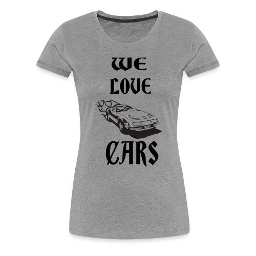 auto fahrzeug garage - Frauen Premium T-Shirt
