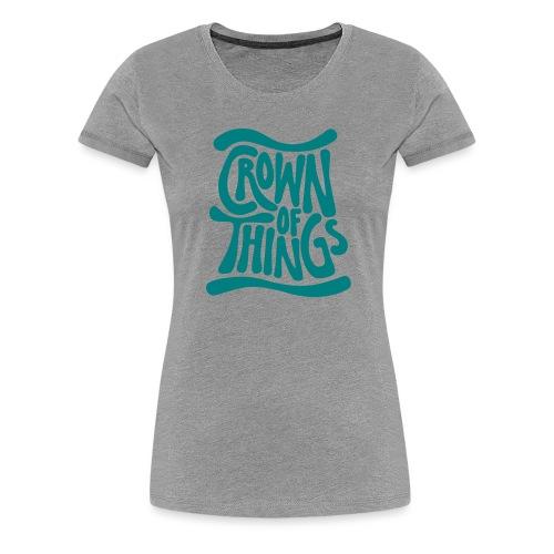 Logo Positiv - Frauen Premium T-Shirt