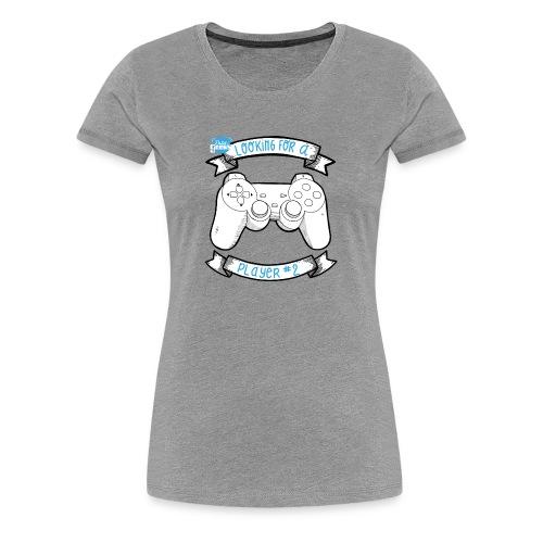 Op zoek naar speler # 2 White - Vrouwen Premium T-shirt