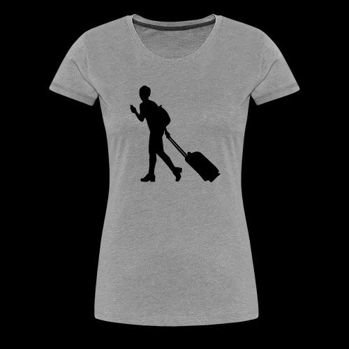 travel - Frauen Premium T-Shirt