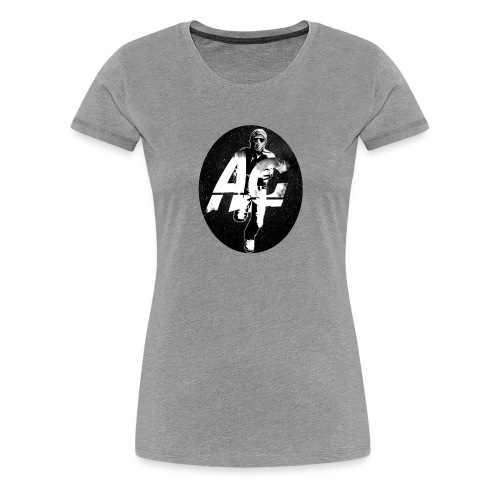 AGNITIO ROUND LOGO - Women's Premium T-Shirt
