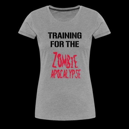 Zombie Apocalypse - Frauen Premium T-Shirt