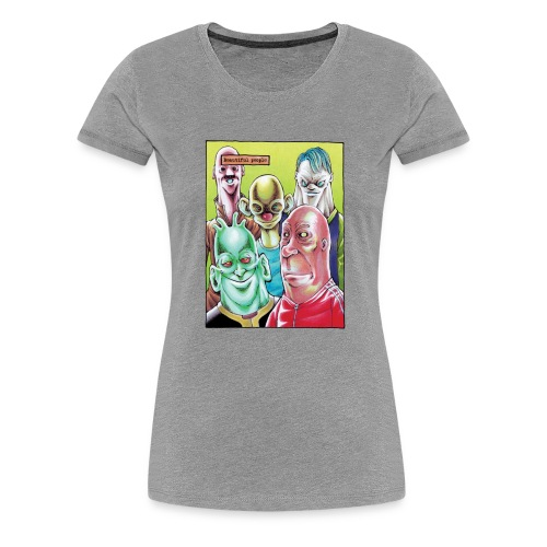 Beautiful people - Frauen Premium T-Shirt