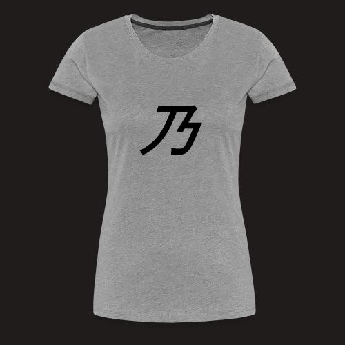 B Logo - Dame premium T-shirt