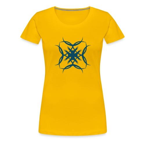 Ritter Kreuz - Frauen Premium T-Shirt