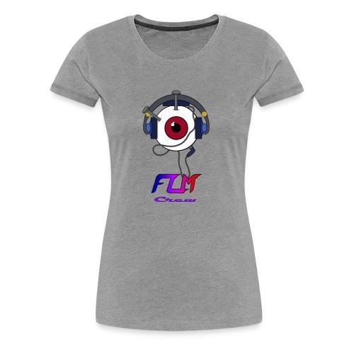 FLM Crew - T-shirt Premium Femme