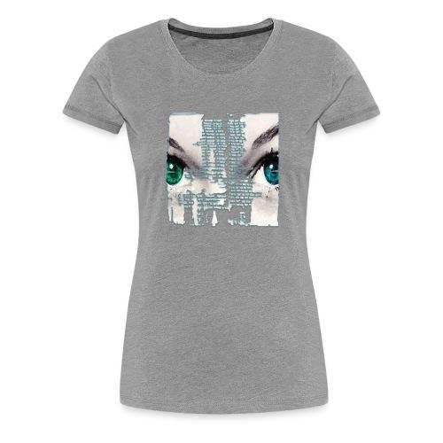 Eyes - Maglietta Premium da donna
