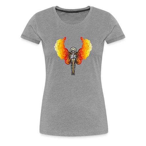 Fire Knight - Frauen Premium T-Shirt