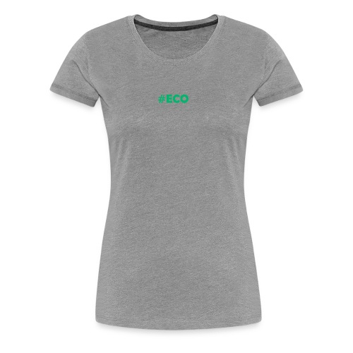 #ECO Blue-Green - Frauen Premium T-Shirt