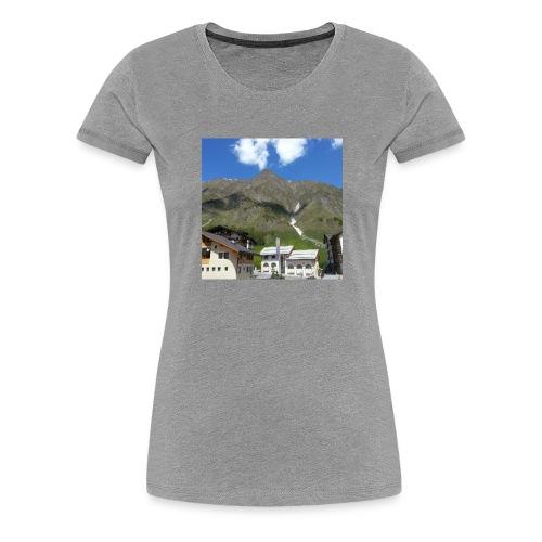 Berge Alm - Frauen Premium T-Shirt