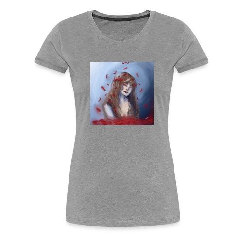 Water rose - Frauen Premium T-Shirt
