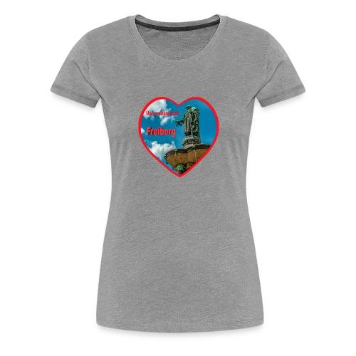 Universitätsstadt Freiberg - Frauen Premium T-Shirt