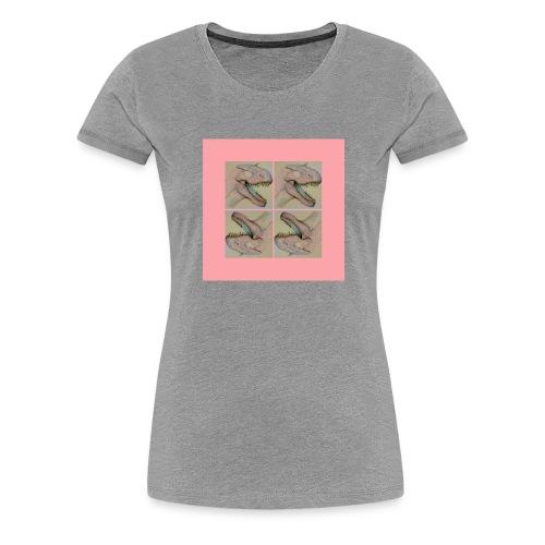 Jurassic party - Naisten premium t-paita