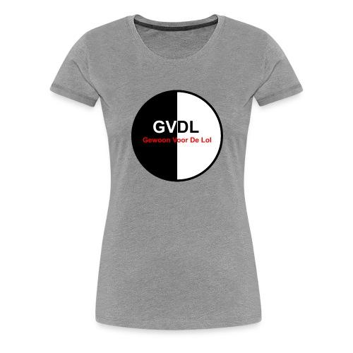 GVDL Logo - Vrouwen Premium T-shirt