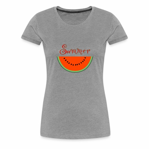 Watermelon, by SBDesigns - T-shirt Premium Femme