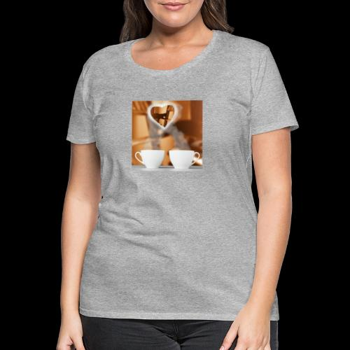 sticallbats coffee for two - Women's Premium T-Shirt