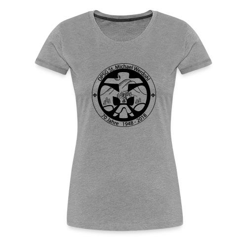 Logo Aufnaeher Jubi SW - Frauen Premium T-Shirt