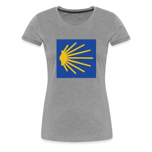 Muschel Wegweiser - Frauen Premium T-Shirt