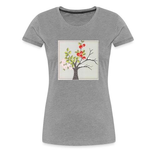 Die vier Jahreszeiten. Frühling bis Winter - Frauen Premium T-Shirt