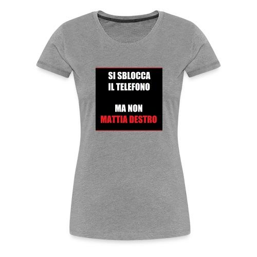 Allcalcio Destro - Maglietta Premium da donna