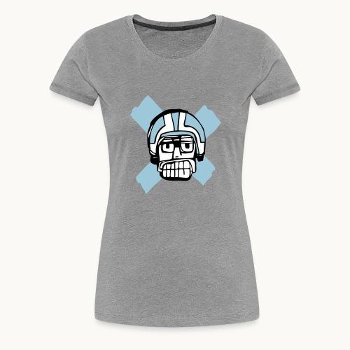 Motard Junior - BlackAndWhite - T-shirt Premium Femme