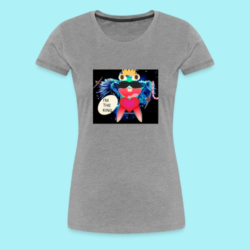 I 'm the king - T-shirt Premium Femme