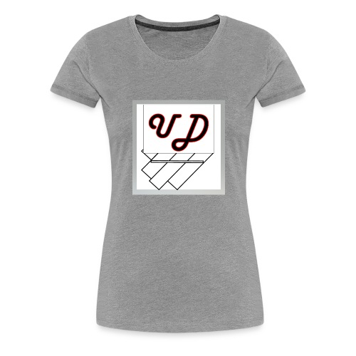 Abstract UD - Women's Premium T-Shirt