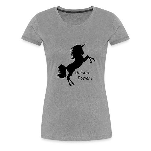 Unicorn Power - T-shirt Premium Femme