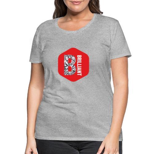 B brilliant red - Vrouwen Premium T-shirt