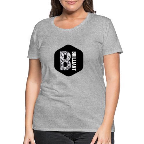 B brilliant black - Vrouwen Premium T-shirt