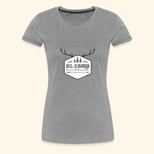 ac camp - Maglietta Premium da donna