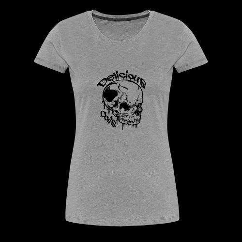 Logo Mode Schwarz - Frauen Premium T-Shirt