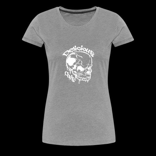 Logo Mode Weiss - Frauen Premium T-Shirt