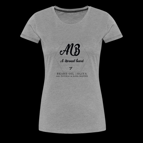 Beard Oil | Oliva Logo - Frauen Premium T-Shirt