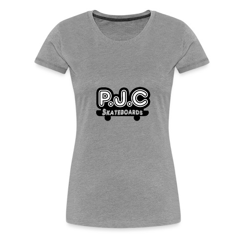 P.J.C Skateboards - Women's Premium T-Shirt