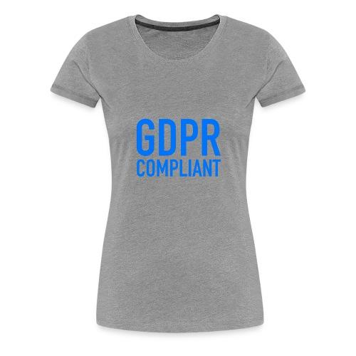 GDPR COMPLIANT - Maglietta Premium da donna