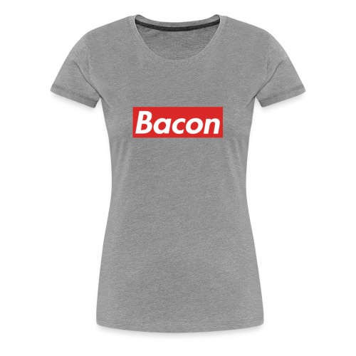 Bacon - Premium-T-shirt dam