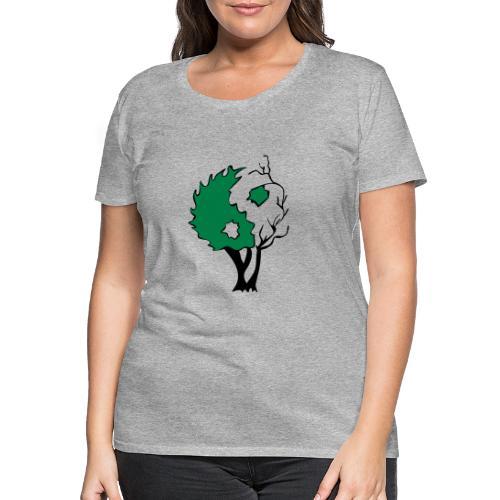 Yin Yang Arbre - T-shirt Premium Femme