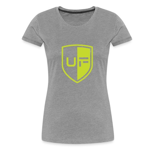 uFit Logo - Women's Premium T-Shirt