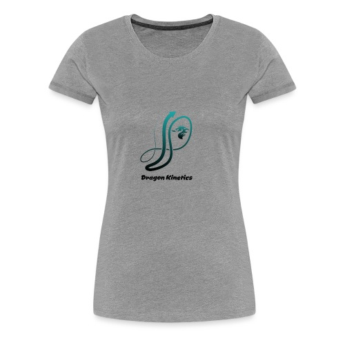 Dragon Kinetics green logo - Women's Premium T-Shirt
