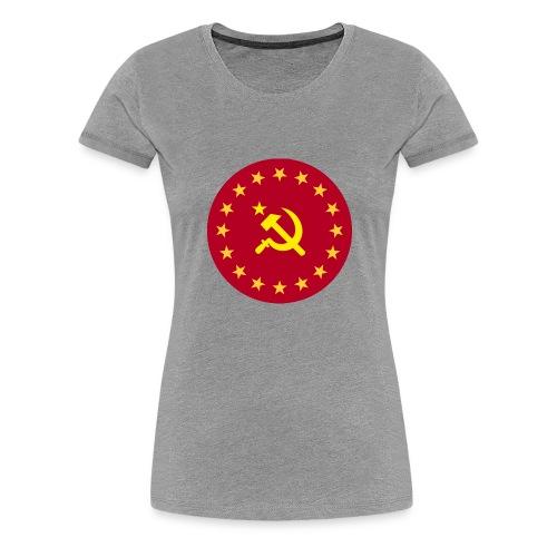 Communist Coat of Arms - Premium-T-shirt dam