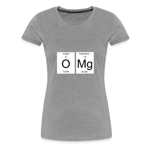 OMG Nerd Geschenk Geschenkidee - Frauen Premium T-Shirt