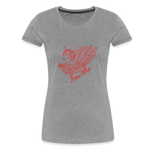 rood - Vrouwen Premium T-shirt