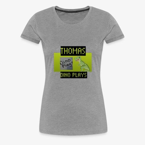 OFFICIAL DINO PLAYS MERCH - Women's Premium T-Shirt