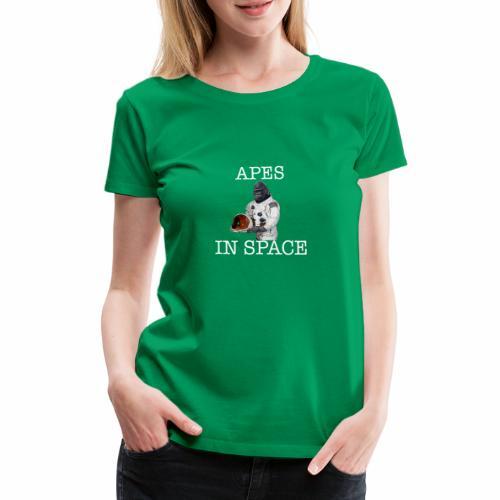 Apes in Space - Women's Premium T-Shirt