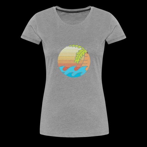 mar caribe - Camiseta premium mujer