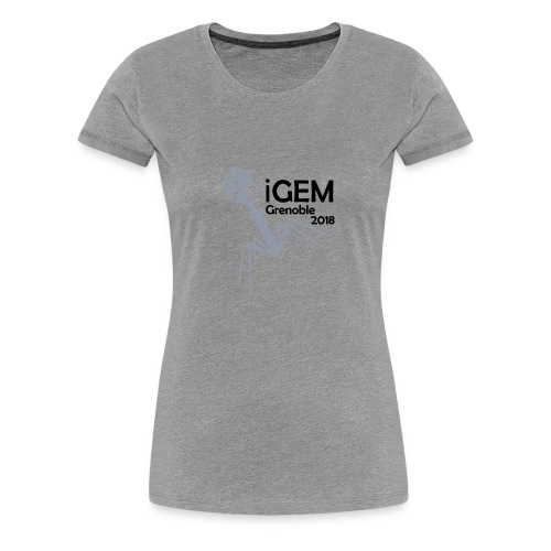 Logo iGEM - T-shirt Premium Femme