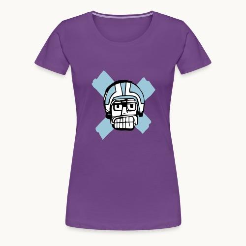 Motard Junior - Blue - T-shirt Premium Femme