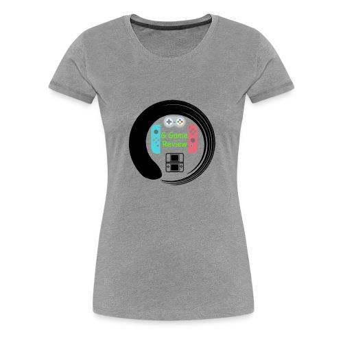G Game Review Logo - Women's Premium T-Shirt